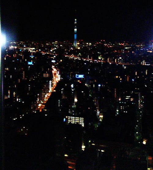 Tokyo Skytree from mandarin oriental