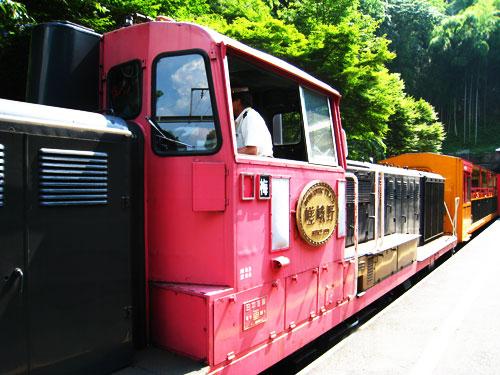 sagano train