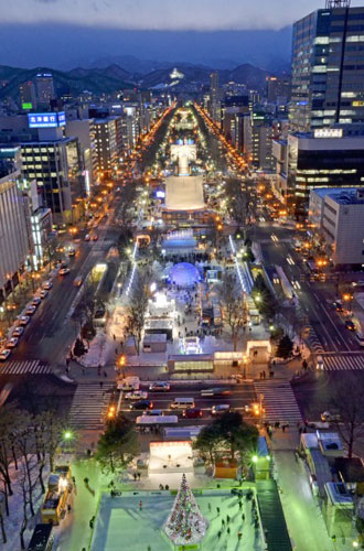 odori at night