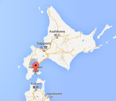 map hakodate