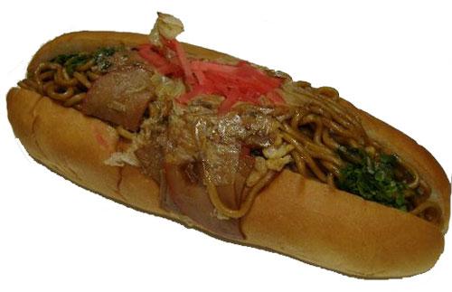 yakisoba bread