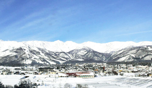 Hakuba in winter